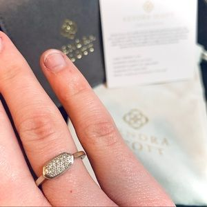 "KS ""Isa Pave Diamond Ring""💍"